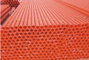 PVC high voltage power cable protection tube